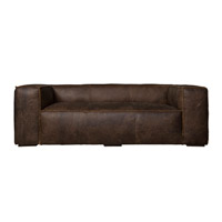 Harp and Finial HFF24734DS Presley Natural Wood Sofa