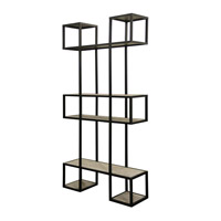 Harp and Finial HFF24743DS Baltic Black Bookcase
