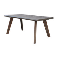 Ruxon 68 X 36 inch Natural Wood Dining Table