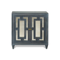 Harp and Finial HFF24900DS Linden Charcoal Cabinet