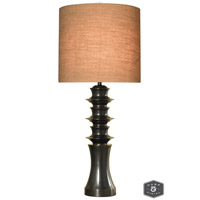 Harp and Finial HFL311574DS Mackay 43 inch 150 watt Madison Bronze Table Lamp Portable Light