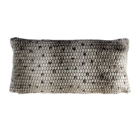 Ponca 24 inch Gray Pillow