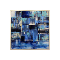 Indigo Multicolored Wall Art
