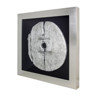 Gombe Silver Wall Art