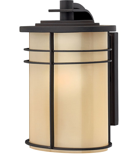 Hinkley Lighting Ledgewood 1 Light Outdoor Wall Lantern in Museum Bronze 1120MR photo