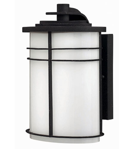 Hinkley Lighting Ledgewood 1 Light Outdoor Wall Lantern in Vintage Black 1120VK-EST photo