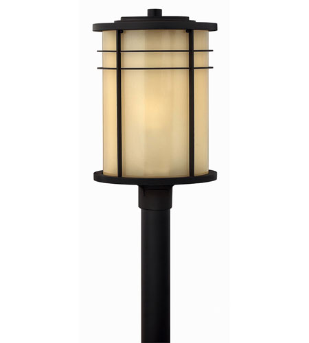 Hinkley Lighting Ledgewood 1 Light Post Lantern (Post Sold Separately) in Museum Bronze 1121MR-ES