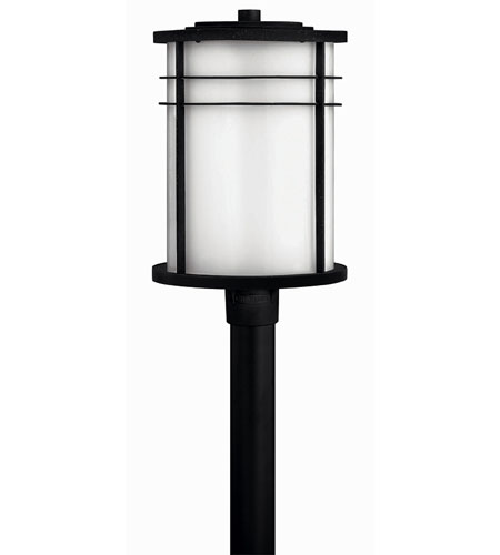 Hinkley Lighting Ledgewood 1 Light Post Lantern (Post Sold Separately) in Vintage Black 1121VK-EST photo