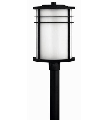 Hinkley Lighting Ledgewood 1 Light Post Lantern (Post Sold Separately) in Vintage Black 1121VK-EST