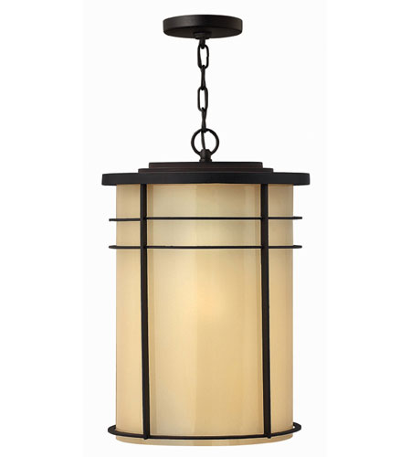 Hinkley Lighting Ledgewood 1 Light Outdoor Hanging Lantern in Museum Bronze 1122MR-ESDS