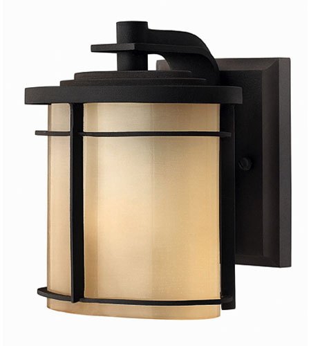 Hinkley Lighting Ledgewood 1 Light Outdoor Wall Lantern in Museum Bronze 1126MR-EST photo