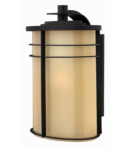 Hinkley Lighting Ledgewood 1 Light Outdoor Wall Lantern in Museum Bronze 1129MR-ES