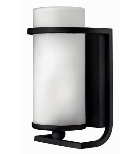 Hinkley Carlyle Small Wall Outdoor In Museum Black 1130mb Es