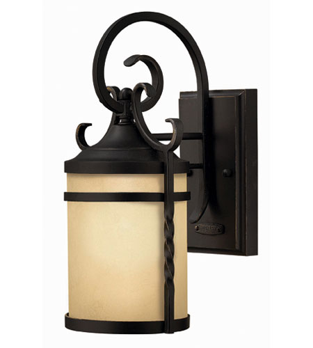 Hinkley Lighting Casa 1 Light Outdoor Wall Lantern in Olde Black 1144OL-ESDS photo