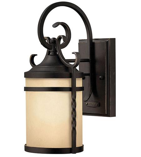 Hinkley Lighting Casa 1 Light Outdoor Wall Lantern in Olde Black 1144OL