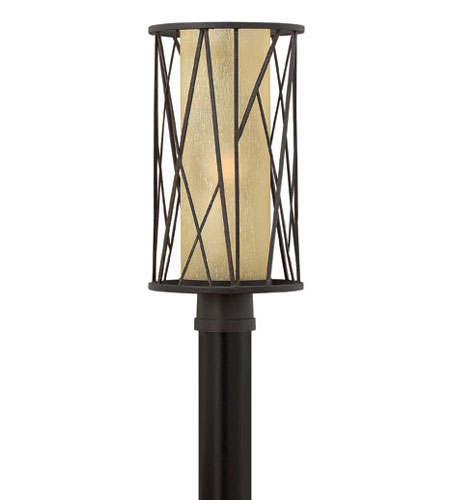 Hinkley Lighting Elm 1 Light Post Lantern (Post Sold Separately) in Regency Bronze 1151RB-ES