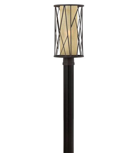 Hinkley Lighting Elm 1 Light GU24 CFL Post Lantern (Post Sold Separately) in Regency Bronze 1151RB-GU24