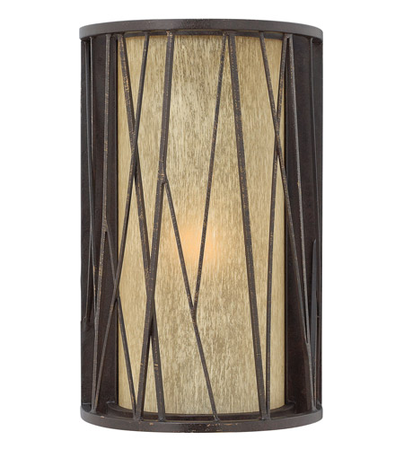 Hinkley Lighting Elm 1 Light Outdoor Wall Lantern in Regency Bronze 1154RB