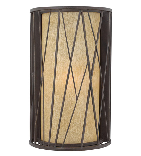 Hinkley Lighting Elm 1 Light Outdoor Wall Lantern in Regency Bronze 1155RB-LED