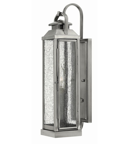Hinkley Lighting Revere 1 Light Outdoor Wall in Pewter 1180PW photo