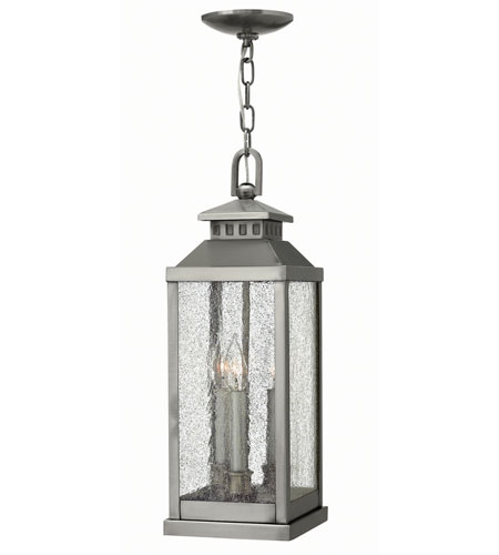 Hinkley Lighting Revere 3 Light Outdoor Hanger in Pewter 1182PW