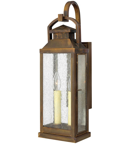 Hinkley 1184SN Revere 2 Light 22 inch Sienna Outdoor Wall Lantern photo