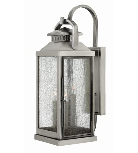Hinkley Lighting Revere 3 Light Outdoor Wall in Pewter 1185PW photo