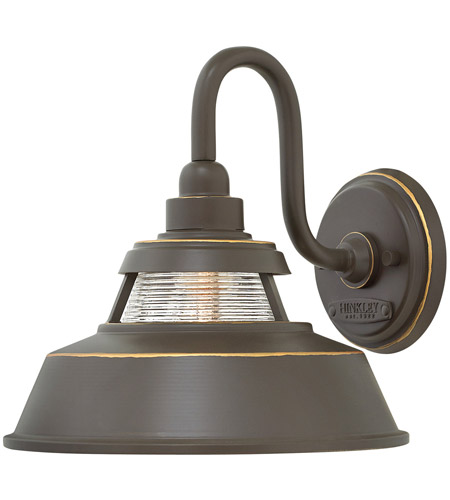 Hinkley 1194OZ Troyer 1 Light 10 inch Oil Rubbed Bronze Outdoor Wall Mount, Open Air photo