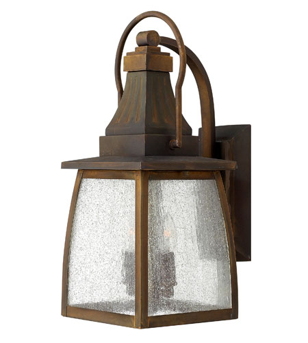 Hinkley Lighting Montauk 1 Light Outdoor Wall Mount in Sienna 1200SN-ES