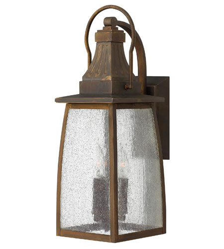 Hinkley Lighting Montauk 1 Light Outdoor Wall Mount in Sienna 1204SN-ES