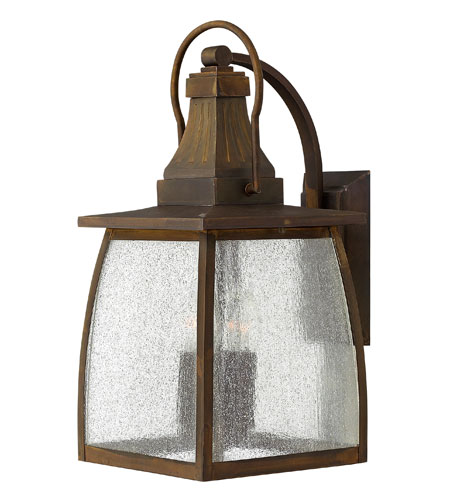 Hinkley Lighting Montauk 1 Light Outdoor Wall Mount in Sienna 1205SN-ES photo