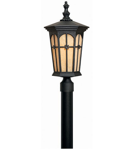 Hinkley Warwick 1 Light Large Post Lantern (Post Sold Separately) in Patina Black 1217PT photo