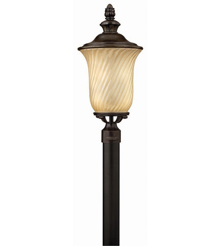 Hinkley Lighting San Mateo 3 Light Post Lantern (Post Sold Separately) in Regency Bronze 1251RB
