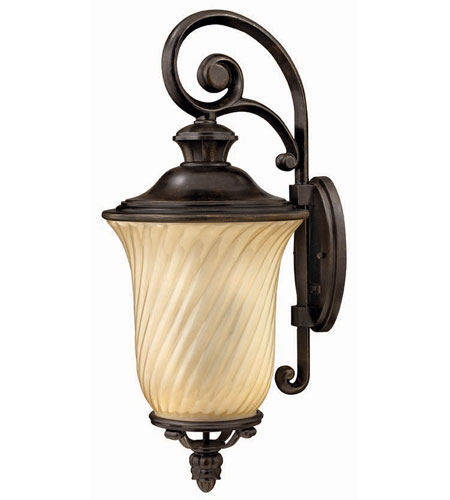 Hinkley Lighting San Mateo 3 Light Outdoor Wall Lantern in Regency Bronze 1255RB