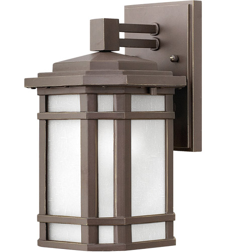 Hinkley 1270OZ-WH-LED Cherry Creek LED 11 inch Oil Rubbed Bronze Outdoor Wall Mount photo