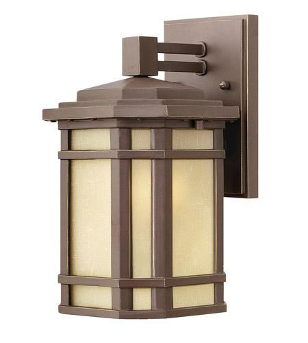 Hinkley Lighting Cherry Creek 1 Light Outdoor Wall Lantern in Oil Rubbed Bronze 1270OZ