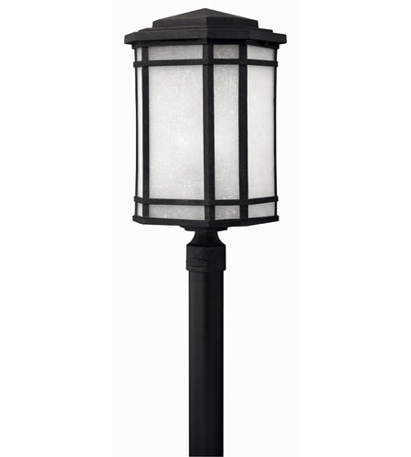 Hinkley Lighting Cherry Creek 1 Light Post Lantern (Post Sold Separately) in Vintage Black 1271VK-ES