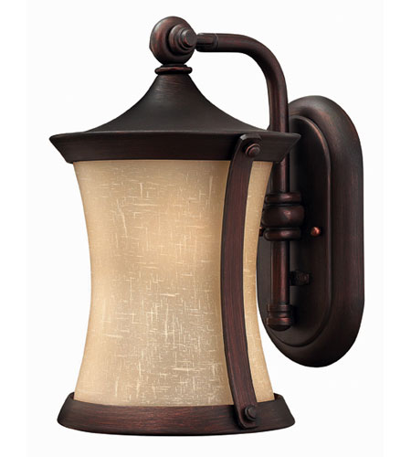 Hinkley Lighting Thistledown 1 Light Outdoor Wall Lantern in Victorian Bronze 1280VZ-DS