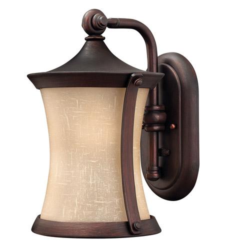 Hinkley Lighting Thistledown 1 Light Outdoor Wall Lantern in Victorian Bronze 1280VZ