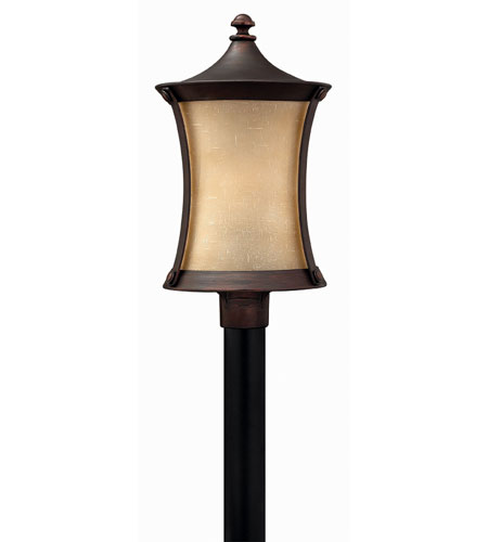 Hinkley Lighting Thistledown 1 Light Post Lantern (Post Sold Separately) in Victorian Bronze 1281VZ-ES photo