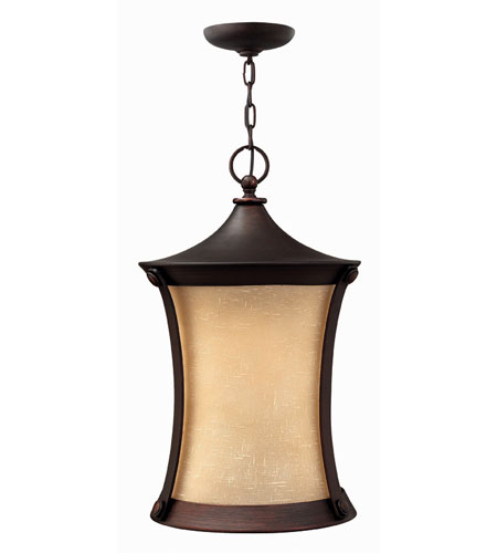 Hinkley Lighting Thistledown 1 Light Outdoor Hanging Lantern in Victorian Bronze 1282VZ-DS photo