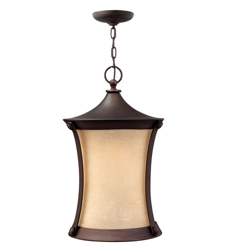 Hinkley Lighting Thistledown 1 Light Outdoor Hanging Lantern in Victorian Bronze 1282VZ photo