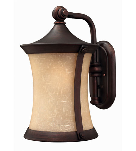 Hinkley Lighting Thistledown 1 Light Outdoor Wall Lantern in Victorian Bronze 1284VZ-DS