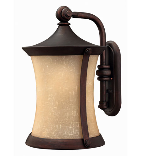 Hinkley Lighting Thistledown 1 Light Outdoor Wall Lantern in Victorian Bronze 1285VZ-ES photo