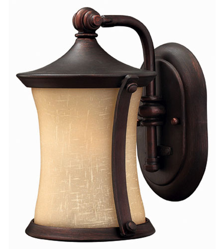Hinkley Lighting Thistledown 1 Light Outdoor Wall Lantern in Victorian Bronze 1286VZ-DS