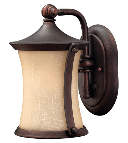 Hinkley 1286VZ Thistledown 1 Light 10 inch Victorian Bronze Outdoor Wall Lantern in Incandescent photo