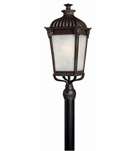 Hinkley Quebec 1 Light X Large Post Lantern (Post Sold Separately) in Iron Bronze 1291IB-ES photo