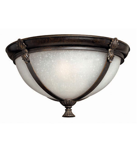 Hinkley Quebec Flush Outdoor in Iron Bronze 1293IB-ES photo