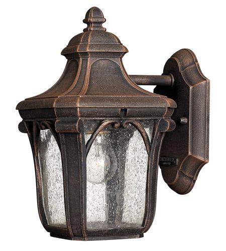 Hinkley Lighting Trafalgar 1 Light GU24 CFL Outdoor Wall in Mocha 1316MO-GU24