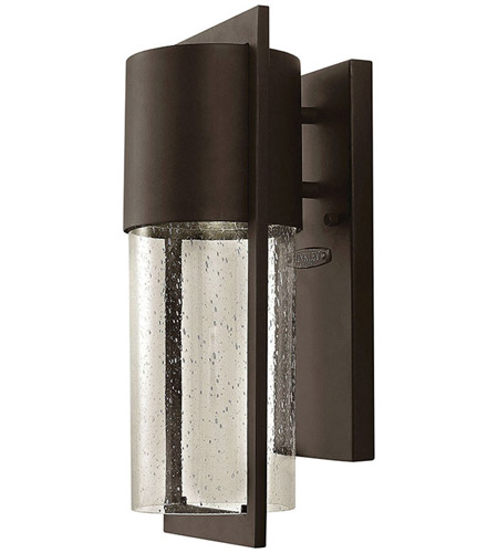 Hinkley 1320KZ-LED Shelter LED 16 inch Buckeye Bronze Outdoor Wall Mount photo